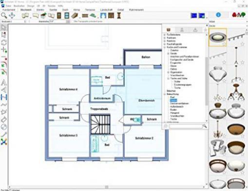 punch architekt 3d x8 home deutsch g nstig kaufen. Black Bedroom Furniture Sets. Home Design Ideas