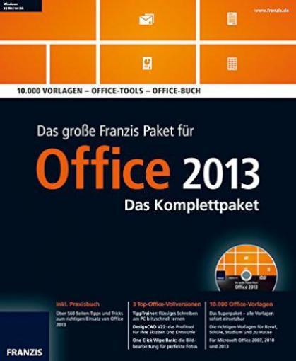 franzis: das große franzis office paket 2013 (deutsch) günstig, Garten ideen
