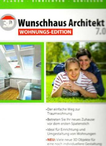 3d wunschhaus architekt 7 0 wohnungs edition deutsch. Black Bedroom Furniture Sets. Home Design Ideas